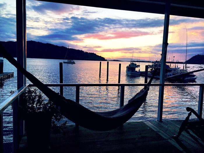 Sunsets and Hammocks Make Me Happy